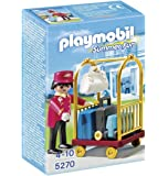 Playmobil - 5270 - Jeu de Construction - Bagagiste