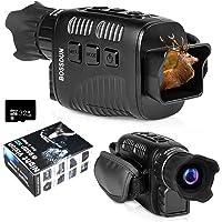 Caméra Infrarouge monoculaire à Vision Nocturne numérique Caméscope Optique 4x25mm avec écran intérieur TFT de 1,5…