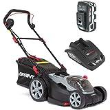 Sprint accu grasmaaier, inclusief 1 x 5 Ah accu en enkele oplader, 5 jaar garantie