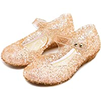 Princess Girls Shoes Cinderella Shoes Snow Queen Shoes Dress Up Shoes Halloween Cosplay Fancy Dress Up Shoes for Girls