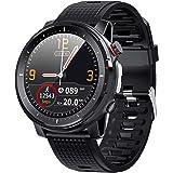 Smartwatch, fitness tracker, monitor della pressione sanguigna, misuratore di ossigeno nel sangue, cardiofrequenzimetro, orol