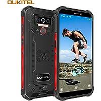 OUKITEL WP5 Pro (2020) Outdoor Smartphone Ohne Vertrag, 4G Dual SIM IP68 Outdoor Handy,8000mAh Akku 4GB 64GB,Android 10…