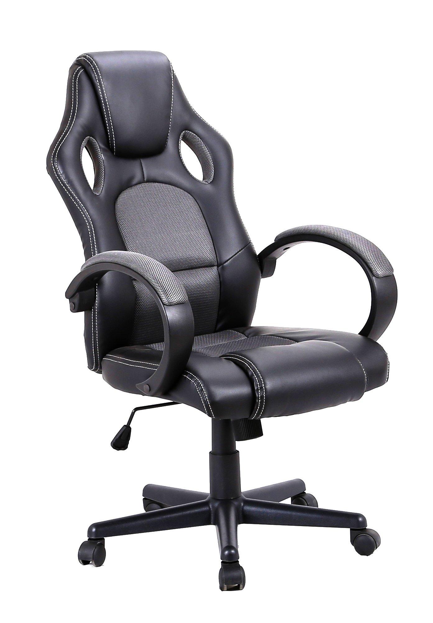 Meubletmoi Silla de oficina para gaming, cómoda y ergonómica