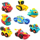 Techno Buzz Deal Unbreakable Pull Back Vehicles| Push and Go Crawling Toy for Kids & Children, Power Friction Cars for 3…
