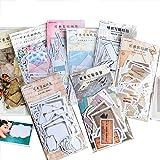 Falary Rétro Stickers Bullet Journal Accessoires Gommettes Autocollants pour Scrapbooking Loisirs Creatifs Materiel Activites