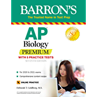 AP Biology Premium: With 5 Practice Tests (Barron's Test Prep) (English Edition)