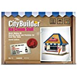 Ice Cream Stall Model Making Kit by The CityBuilder 1:43 Scale (7mm) O Gauge