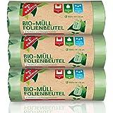 Biologisch afvalfoliezakken 15 liter (45 stuks) - fijnste materiaalkwaliteit en gevoel 3-pack (3 x 15 stuks) 100% composteerb
