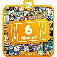 Tiger Media Deutschland GmbH 4203 6 Monate tigertones Premium-Zugang