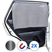 Lechin Tende Magnetico Oscuranti per auto - Parasole per finestrino laterale dell'auto (2X) - Tendine parasole per auto…
