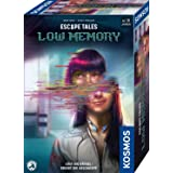 Kosmos 695156 Escape Tales – lågt minne, löser pusslarna. Upplev historien, Escape Room-spel, spännande brädspel från 18 år,