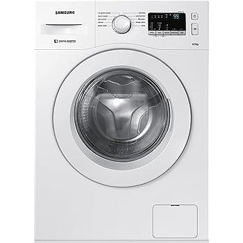 Samsung 6 kg Fully-Automatic Front Loading Washing Machine (WW60M206LMW/TL, White)