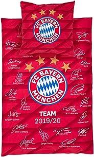 FC Bayern München Bettwäsche Player Spieler Unterschriften Signature Saison 19/20