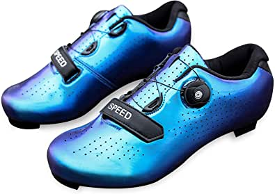 Men's Road Bike Cycling Shoes Peloton Shoe for Men Bicycle Shoes Compatible with SPD and Delta Cleats