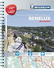 Benelux & North of France - Tourist & Motoring Atlas: Tourist & Motoring Atlas A4 spiral (Michelin Road Atlases)