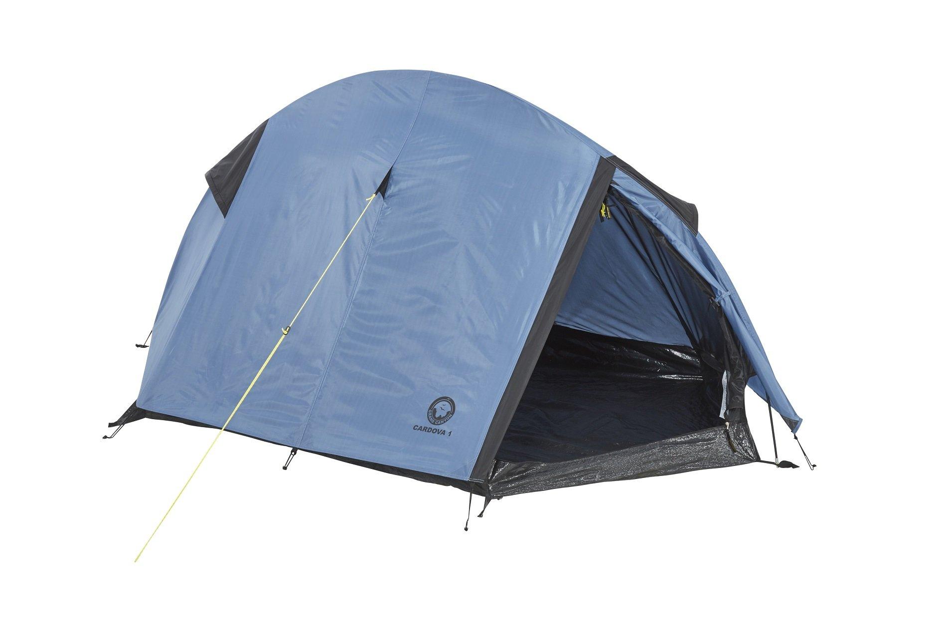 Kuppelzelt Einmannzelt Festival Camping GRAND CANYON 1-2 Personen Zelt Hangout