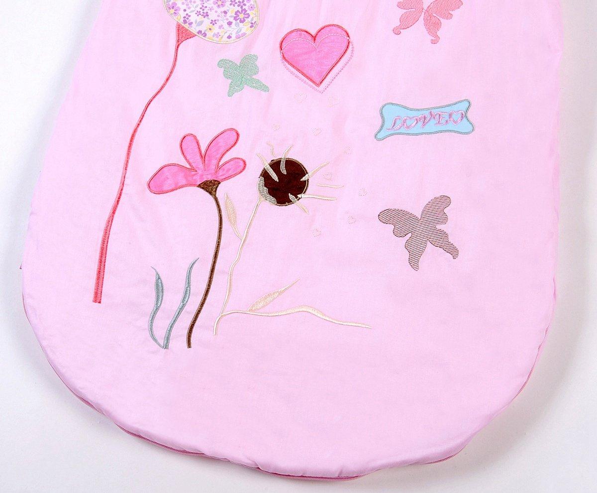 Happy Cherry – Saco de Bebés Niños de Dormir Larga Manga Manta de Algodón – Flor de Loto – 6 meses-2 años / 1-5 años / 3-6 años