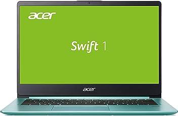 Acer Swift 1 (SF114-32-P413) 35,6 cm (14 Zoll Full-HD IPS matt) Ultrabook (Intel Pentium N5000, 8 GB RAM, 256 GB SSD, Intel UHD, Win 10) türkis