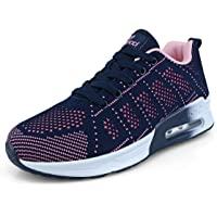 Femme Running Baskets Respirant Marche Running Chaussures Fitness Course Basses Athlétique Gym Mode Sneakers