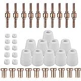 Reboot 40PCS PT31 Consommables de Découpeuse Plasma Torch pour PT-31 LG-40 Torch CUT-40 cut50 Coupeur de plasma Torch Pistole
