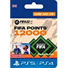 FIFA 22 Ultimate Team - 12000 FIFA Points | PS4/PS5 - Download Code - UK account