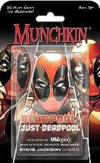 USAopoly USOMU011464 Marvel Munchkin Just Deadpool