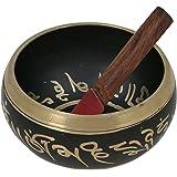AsiaCraft Black Singing Bowl inside Buddha 4.5 inches