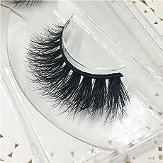 3D natürliche Falsche Wimpern, ESAILQ 3D natürliche Multi Layer Dicke Kreuz Auge Wimpern Falsche Wimpern (P)