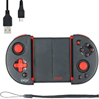 Mcbazel Wireless Controller Joystick,iPega PG-9087S Red Knight Telescopic Bluetooth Controller For Android/Windows PC…