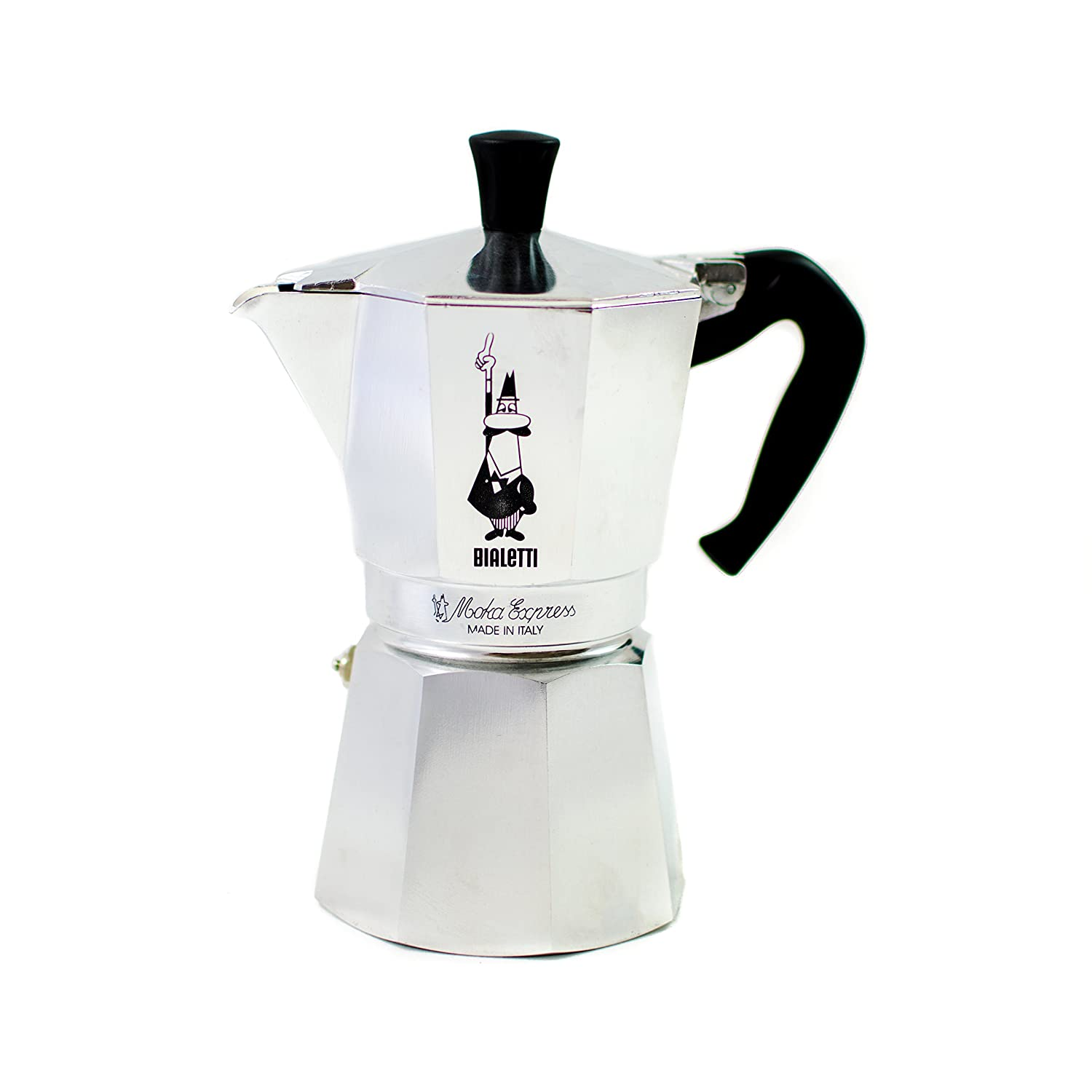 bialetti moka express espresso maker 6 cup kitchen