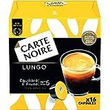 Carte Noire Café Lungo, Capsules Compatibles Dolce Gusto, 6 Paquets de 16 capsules (96 Capsules)