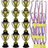 QH-Shop Premio Medallas,Ganadores Medallas el Plastico con Ribbon para Ni/ños Fiesta Deportiva Competici/ón Juegos 36packs
