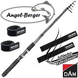 DAM Camaro Tele Spin Teleskoprute Spinnrute alle Modelle mit Angel Berger Rutenband