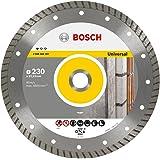 Bosch Professional Universal Turbo Disco Diamantato Standard, Diametro da 230 mm, 22.23 mm