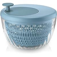 Guzzini   Centrifuga Insalata 26 cm Azzurro Spin amp Store Insalatiera Trasparente
