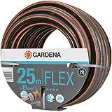 "GARDENA Comfort FLEX slang 19 mm (3/4"") 25 m: Vormvaste, flexibele tuinslang met Power Grip profiel, hoogwaardige spiraalwevi"
