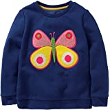 Girls Sweatshirt for Kids Cotton Top Casual Jumper Girl T Shirt Toddler Clothes Long Sleeve Pullover Winter Spring Age 1-12 Y