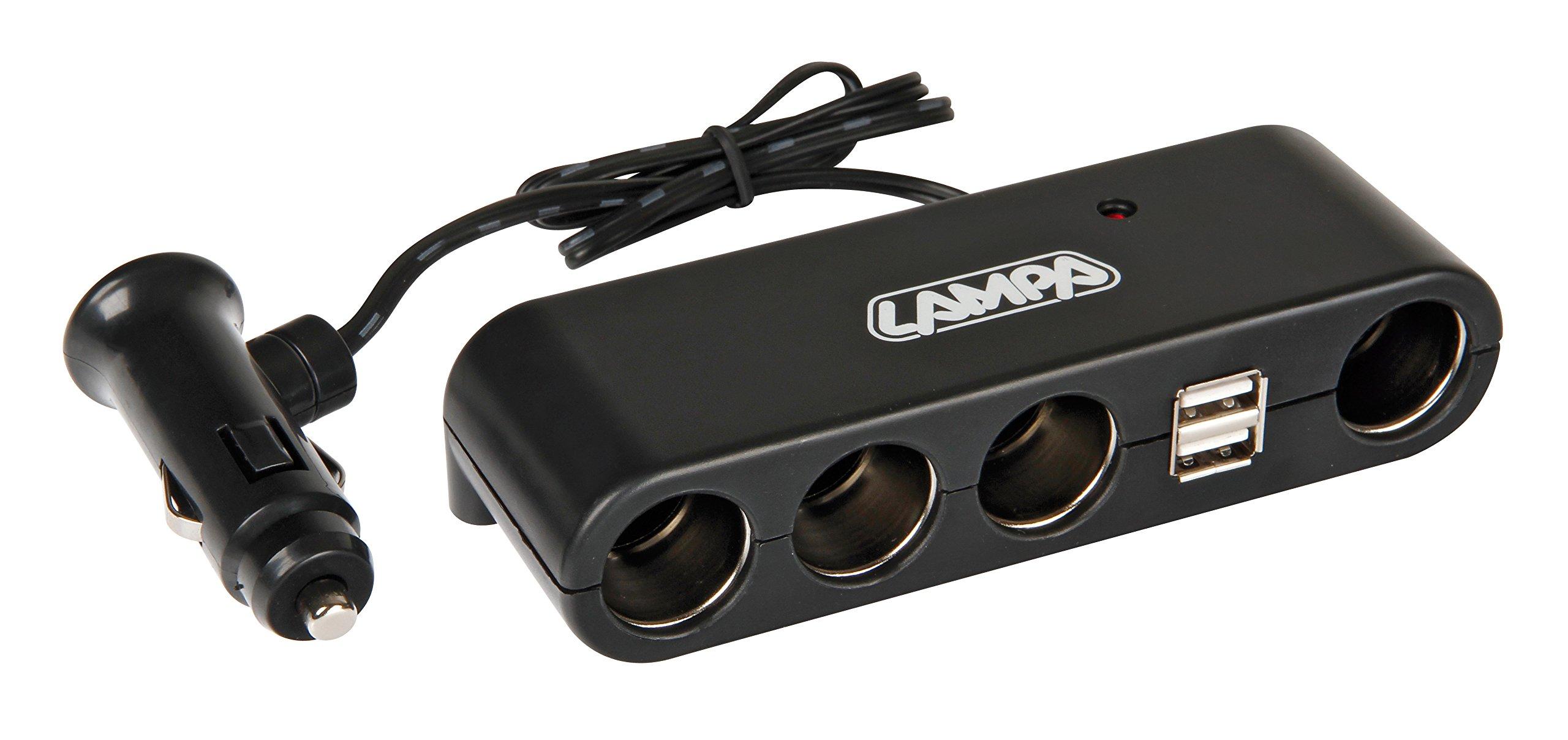 Lampa-39024-Stecker-multi-socket-1224-V-4-2