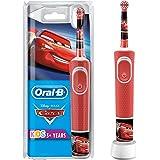 Oral-B Kids Oplaadbare Elektrische Tandenborstel Powered By Braun, 1 Handvat met Disney Pixar Cars, Voor Kinderen Vanaf 3 Jaa