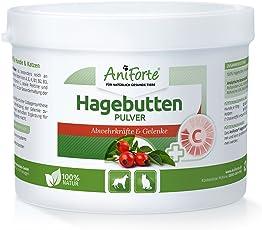 AniForte® Hagebutten Pulver 250 g – Superfrucht für Abwehrkräfte - Naturprodukt für Tiere