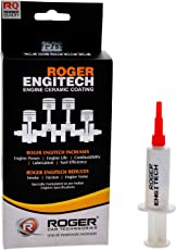 Roger Ceramic Coating with 8ml Quantity Injection for Petrol and Diesel Cars (Brown)