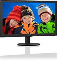 Philips 223V5LHSB2 22-Inch LCD/LED Monitor
