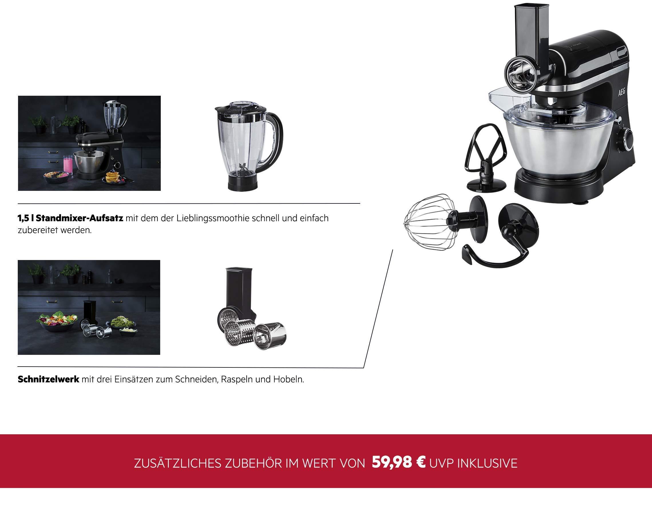 AEG-Kchenmaschine-3Series-inkl-Standmixer-Aufsatz