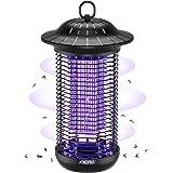 Aerb Elektrisk insektsborttagare, insektsfälla mygglampa 18 W 4 000 V med UV-ljus, inga giftiga kemikalier, effektiv för att