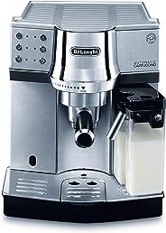 De'Longhi   Espresso&Cappuccino Coffee Machine Silver Colour EC850.M