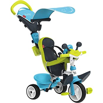 Smoby - 741200 - Tricycle Baby Driver Confort 2 - Tricycle Evolutif avec  Roues Silencieuses - 3200f604c07
