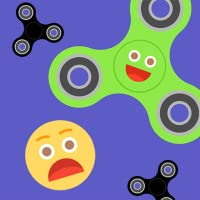 Fidget Spinners Everywhere! Fidget Spinner One Touch Free App for Fun Play 2K17