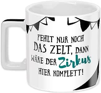 Kaffeetasse Kaffeebecher Geschenk Sheepworld Wortheld Tasse Lächle