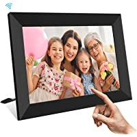 UCMDA Digital Photo Frames Wifi, 10.1 Inch Smart Cloud Digital Picture Frame with HD 1280x800 IPS Touch Screen, 16GB…