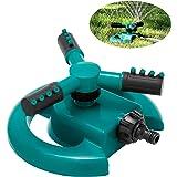 ENJSD Aspersor para césped de jardín, aspersor de Agua automático para césped de jardín, Sistema de riego por aspersión de Ag